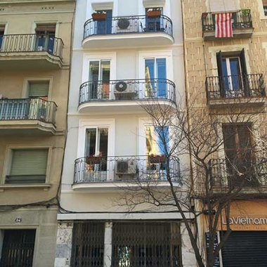 fachadas en Barcelona rehabilitacion